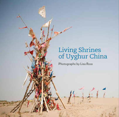Living Shrines of Uyghur China book cover